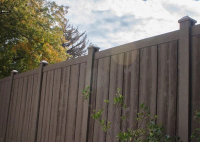 Ashland Dark Brown Fence