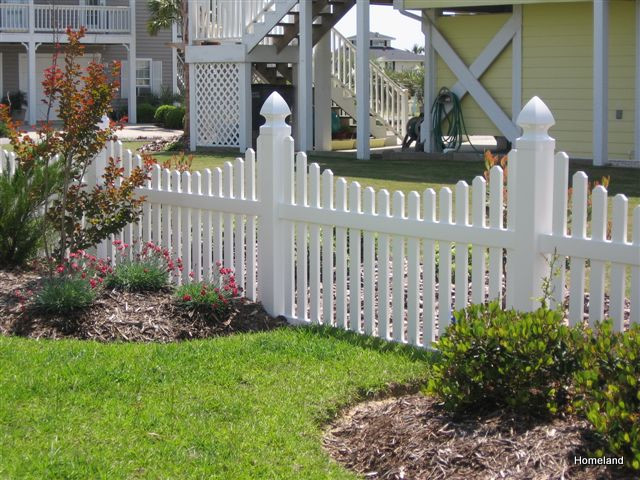Vinyl Fences - Picket fence